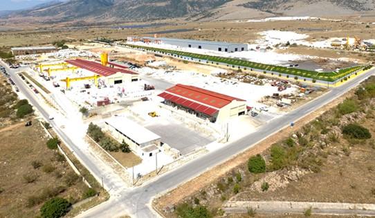 Εργοστάσιο ΒΙΠΕ Δράμας - Μπύρρος Ελληνικά Μάρμαρα