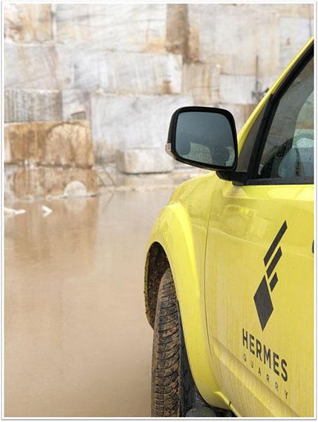 Λατομείο - Hermes Marble IKE & ΣΙΑ ΕΕ.